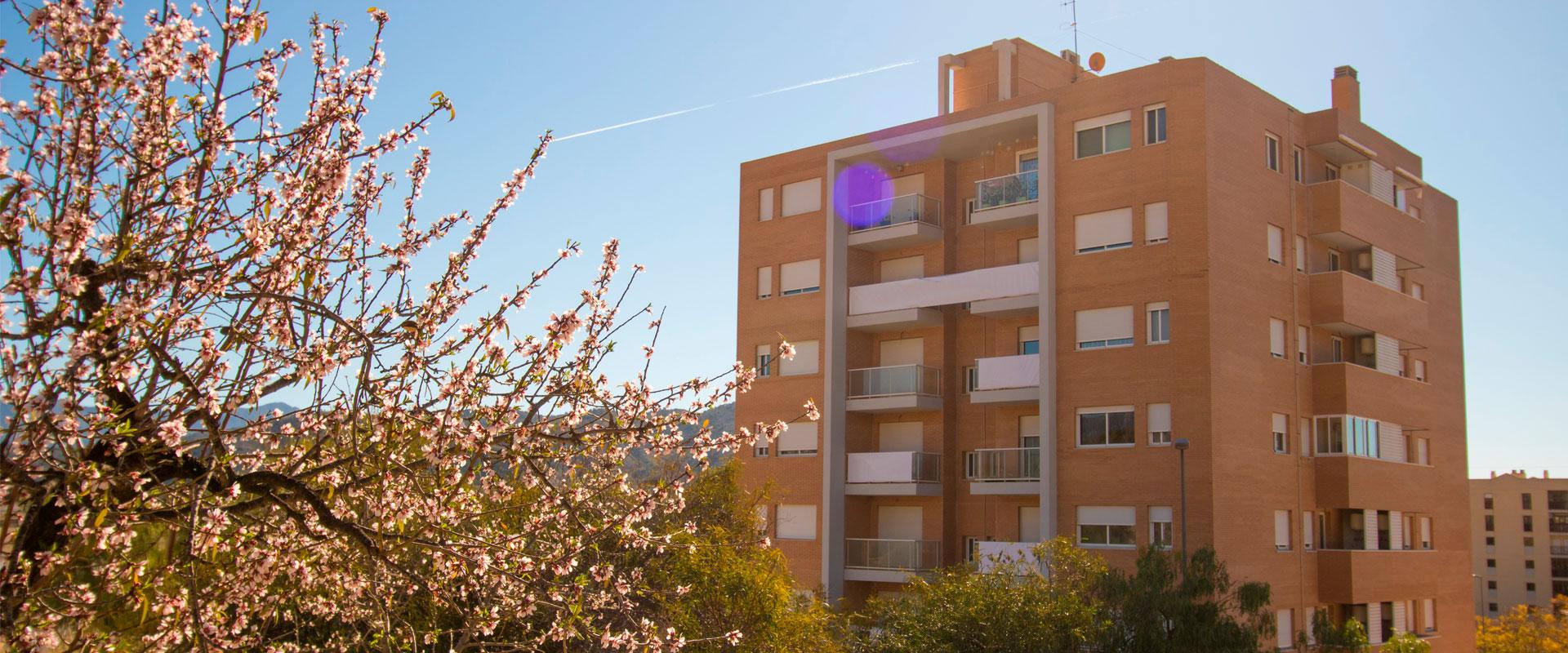 Edificio Jardín de Jijona Asa Promoción Inmobiliaria