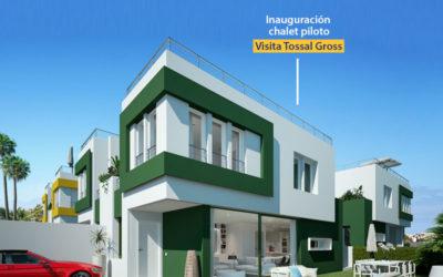 Einweihung Musterhaus residencial Tossal Gross
