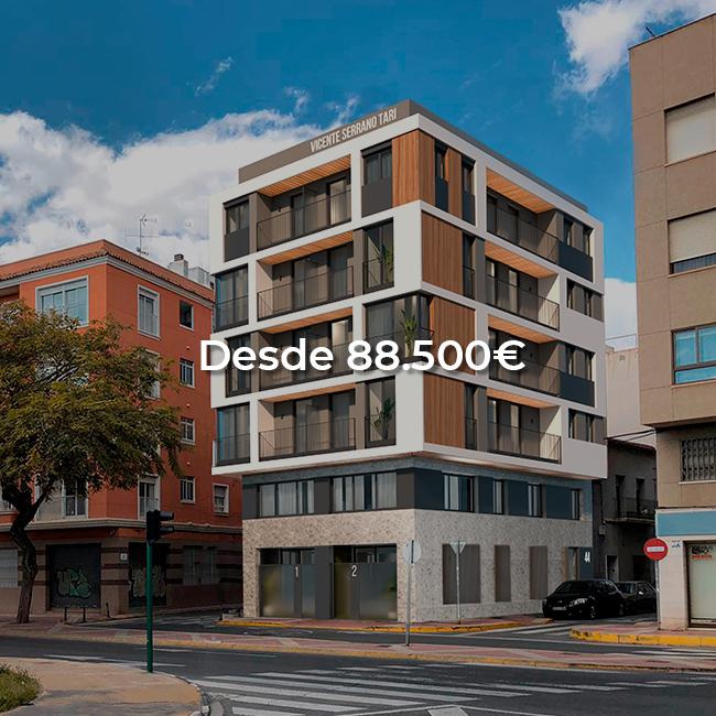Edificio Vicente Serrano Tarí elche asa promocion inmobiliaria