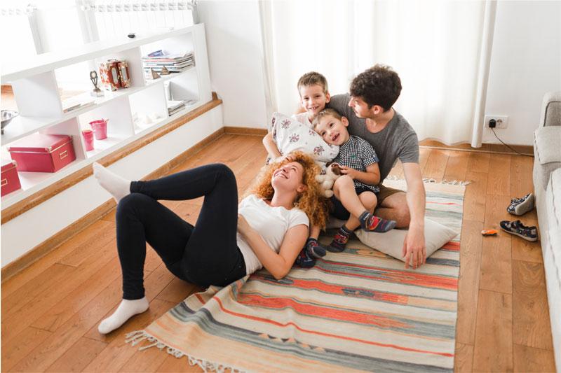planes y juegos en familia en casa